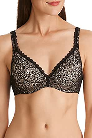 Berlei Women's Lace Barely There Contour Bra, Black, 10A