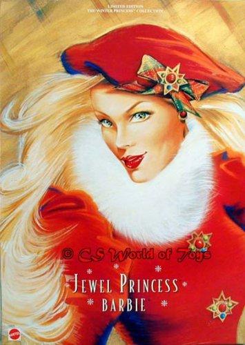 """Jewel Princess"" Barbie – The Winter Princess Collection, Baby & Kids Zone"