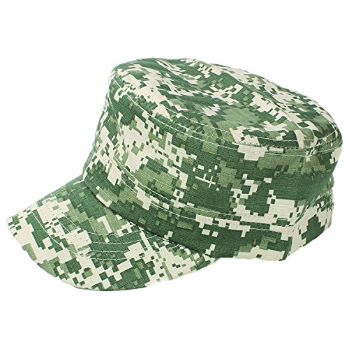 Kids Military Cadet Cap Camouflage
