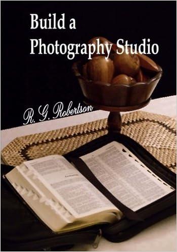 Build a Photography Studio: R. G. Robertson: 9781480207479 ...