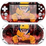 Uzumaki Naruto decal skin for psp vita 2000 console