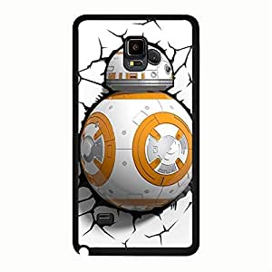 Samsung Galaxy Note 4 Case Cover Shell Creative Lovely Fantasy Movie Star Wars Resistance Robot BB-8 Phone Case Cover New Arrival