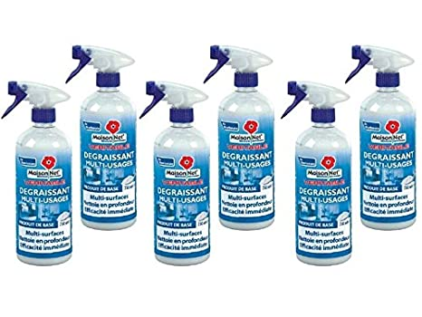 233bd7532d127 Maison Net spray dégraissant au bicarbonate 750 ml 4 + 2 Gratuits ...