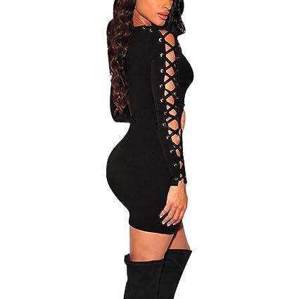 Amazon Hemlock Evening Party Dress Lady Womens Long Sleeve