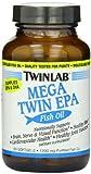 Twinlab Mega Twin EPA Fish Oil, 1200 mg, 60 Softgels, Health Care Stuffs