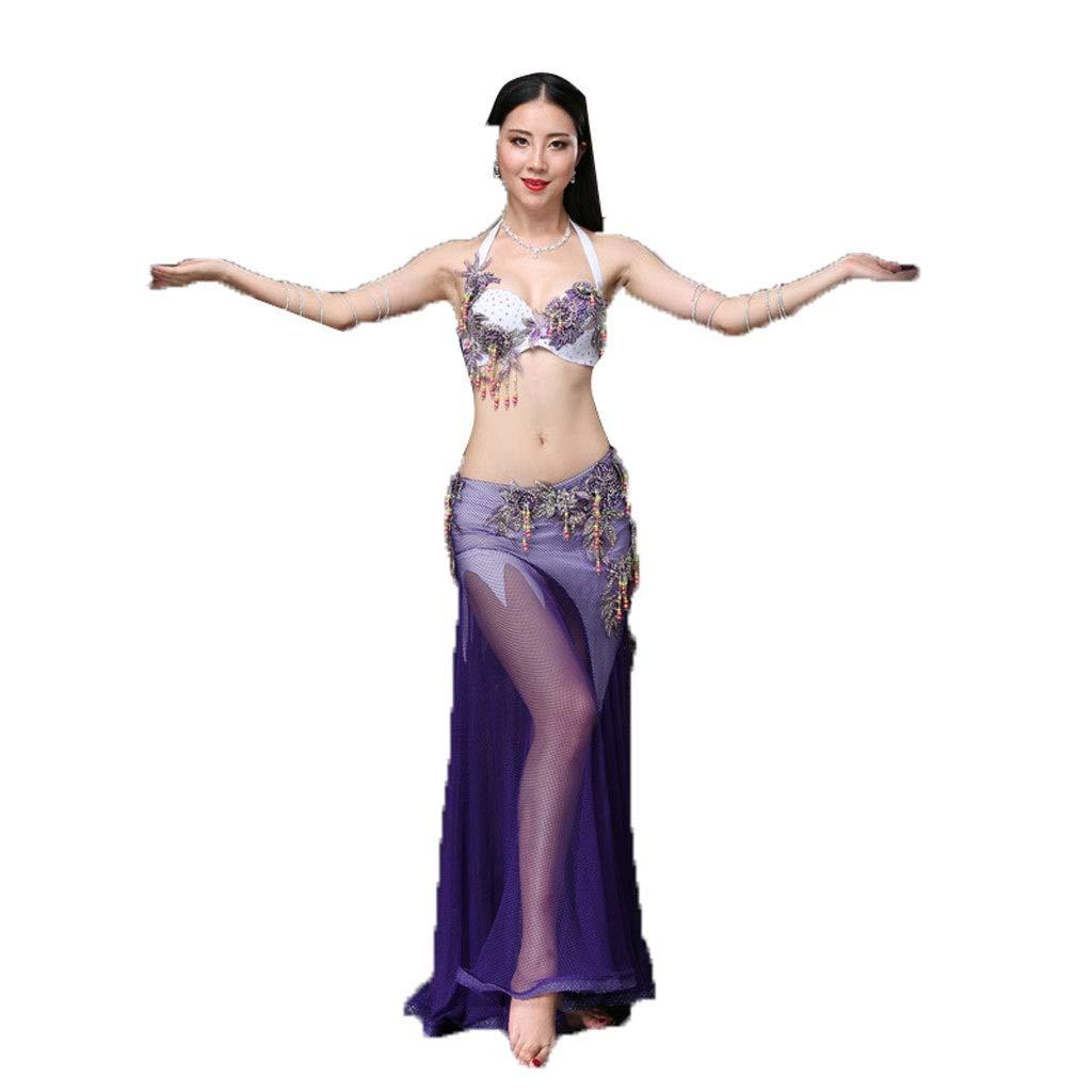 激安 ベリーダンスの衣装秋と冬のスーツセクシーなパフォーマンスの服は薄いダンスの服でした B07PHPM8KV M パープル パープル B07PHPM8KV M, プロコスメ:da95163d --- a0267596.xsph.ru