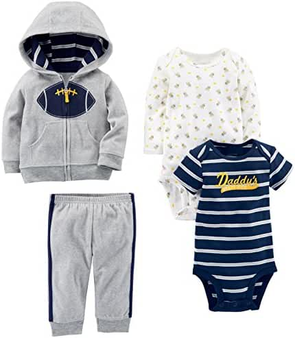 Simple Joys by Carter's Boys Baby 4-Piece Fleece Jacket Set