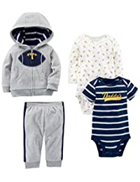 Simple Joys by Carter's Boys' 4-Piece Fleece Jacket Set