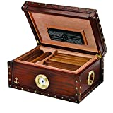 Quality Importers Supreme 100-Cigar 'Maiden Voyage' Humidor