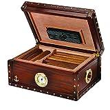 Humidor Supreme 100-Cigar 'Maiden Voyage' Humidor