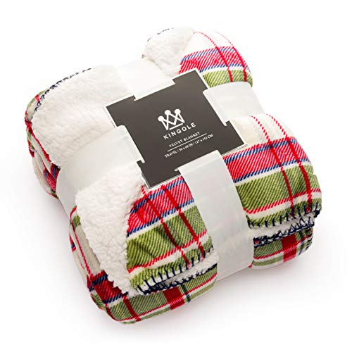 Kingole Premium Double Layer Blanket Reversible