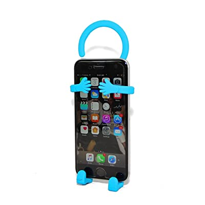 Bondi Silicon Flexible Cell Phone Holder, (Turquoise)