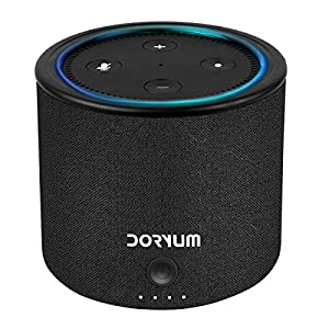 Echo Dot Battery Base,Doryum 10000mAh Power Bank for Echo Dot 2nd Generation-Black