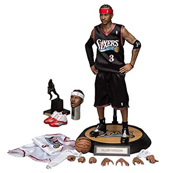 NBA Collection Figura Real Masterpiece 1/6 Allen Iverson 30 cm
