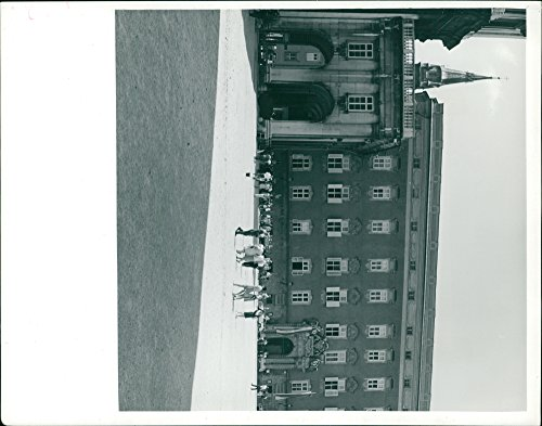 (Vintage photo of Salzburg City in Austria,The Cathedral from the fortress available in colour credit LV)