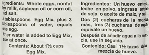 Powdered Eggs Dried Egg Mix for Scrambled Eggs, Baking, Camping 6 oz by Sonstegard by Sonstegard (Image #2)
