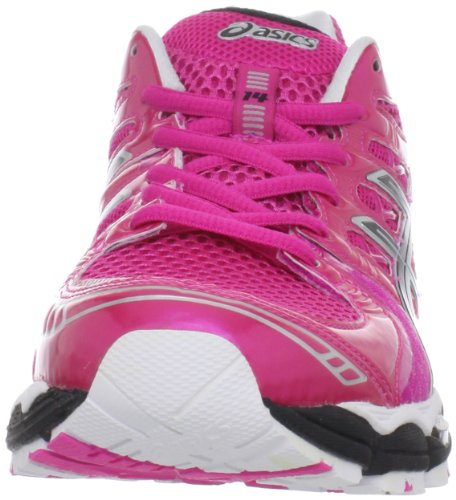Vrouwen Asics Gel Nimbus 14 Hardloopschoen Neon Pink / Zwart / Wit
