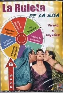 """La Ruleta De La Risa """"Viruta Y Capulina"""" 6 Peliculas Un"""