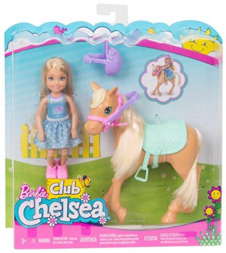 barbie kind mit pferd