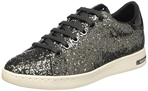 D Geox Jaysen Low Anthracitec9004 Grau Sneakers Top a Women's 66wfRp