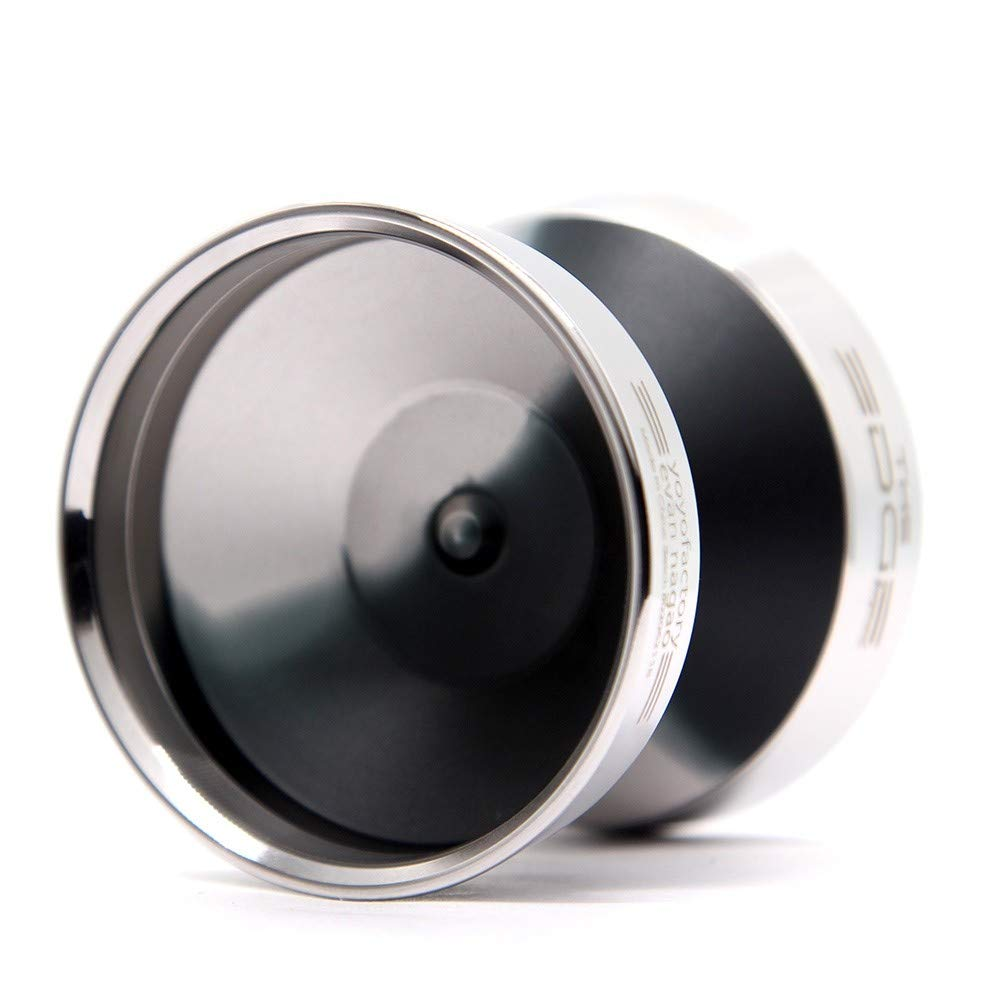 YoYoFactory Edge Beyond Yo-Yo - World Champion Evan Nagao Signature Yo-Yo! (Black Silver Fade) by YoYoFactory (Image #2)