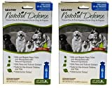 SENTRY Natural Defense FleaandTick Squeeze-On Dog one size 12 applications (2x6pk), My Pet Supplies