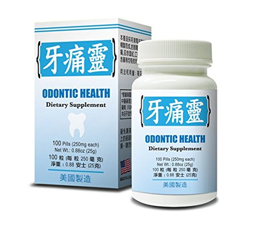 Odontic Health :: Herbal Supplement for Healthy Teeth and Gums :: Made in USA