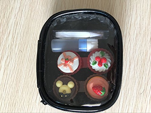 TGBACK Cute Kate Design Contact Lens Case Travel Kit Mirror +bottle + tweezers Container Holder by Tgback (Image #2)