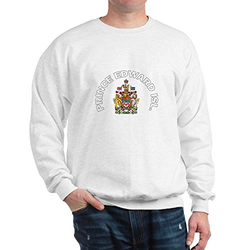 - CafePress Prince Edward Island Coat of Classic Crew Neck Sweatshirt White