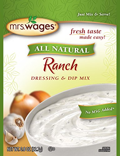 ingredients for ranch dressing mix - 7