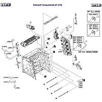 Sparepart: HP LEVER, SENSING, RC1-7597-000CN
