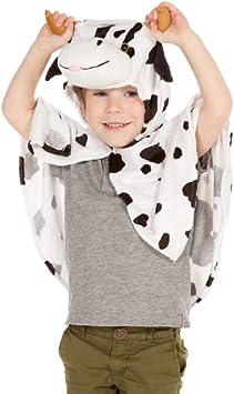 Cow - Disfraz de vaca para niño, talla 3-5 años (9972): Amazon.es ...