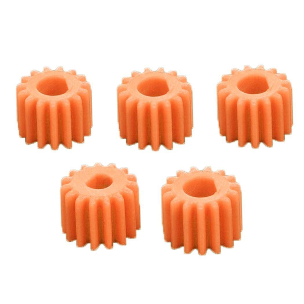 Neuda Pack of 5 Plastic Mount with Robot Motor DIY Toy Set Kits Gears