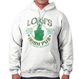 Loki Irish Pub Thor Comics Superhero Drinking Beer Ragnarock Hoodie