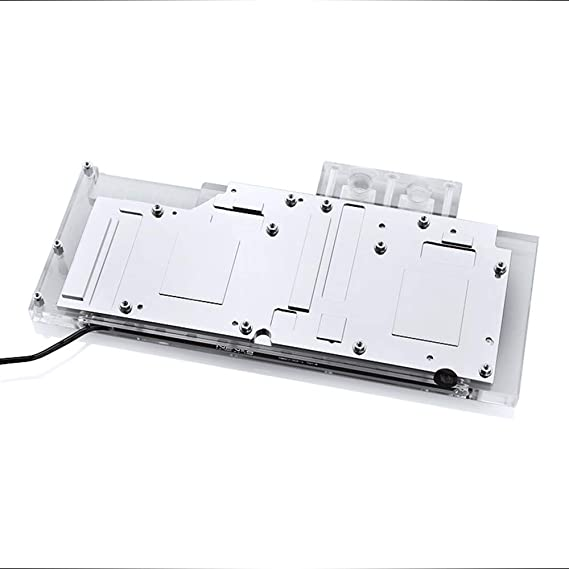 Bykski GPU Copper RBW LED Water Cooling Block for Founder Edition AMD PRO Duo