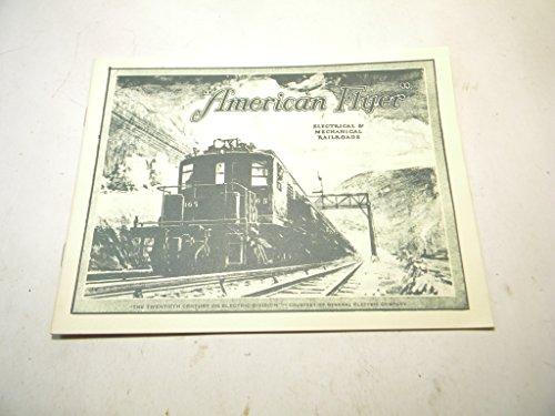 1925 American Flyer Trains Miniature Catalog O and Standard Gauge Trains ()