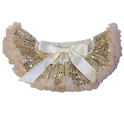 Kirei Sui Baby Gold Sparkle Sequin Pettiskirt