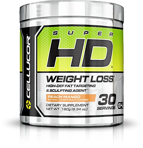 Cellucor, Super HD, Thermogenic Weight Loss Supplement, Peach Mango, 30 Servings