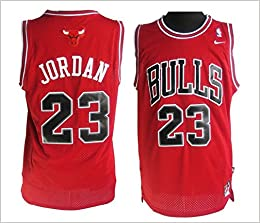 Camiseta de Chicago Bulls, Michael Jordan, roja Para hombre talla XL: Amazon.es: Libros