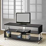 Coaster Home Furnishings 700652 Contemporary TV Console, Black