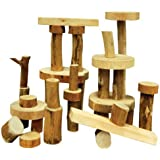 """Constructive Playthings TEB-35 TREE Blocks - 36 Pc. Set - One-of-A-Kind, Grade: Kindergarten to 3, Age: 9.05"""" Height, 9"""" Wide, 6.5"""" Length"""