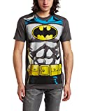 Bioworld Mens Batman Muscle Costume Tee