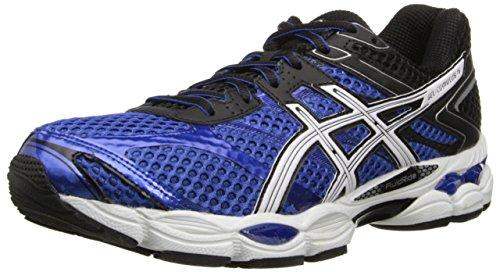 ASICS Men's Gel-Cumulus 16 Running Shoe,Blue/White/Black,12.5 M US