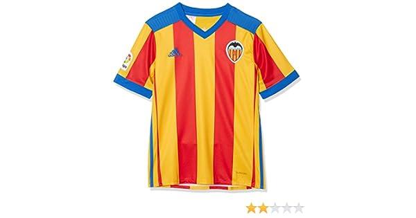 adidas Vcf A JSY Y - Camiseta 2ª Equipación Valencia CF 2017-2018 ...