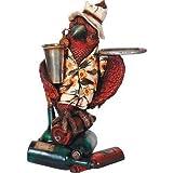 LM Treasures Animal Butler Parrot Prop Decor Resin Statue