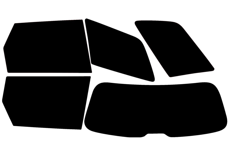 PSSC Pre Cut Rear Car Window Films - Audi A4 Avant Estate 2001 to 2008 05% Very Dark Limo Tint PSSC Window Film