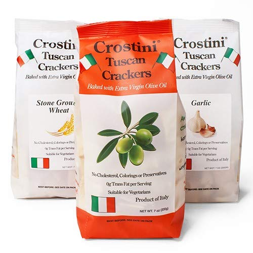 Crostini Tuscan Crackers - Extra Virgin Olive Oil (6 ounce)
