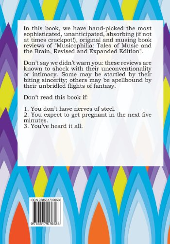 100 of the Most Outrageous Comments about Musicophilia: Tales of Music and the Brain, Revised and Expanded Edition