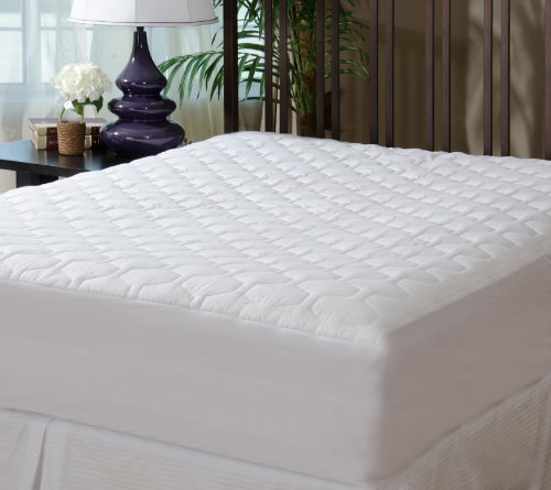 Mattress Pad Cover - Fitted - Quilted - King (78x80
