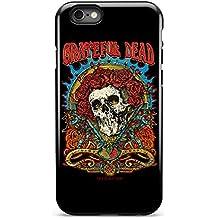 Grateful Dead Skulls and Roses Rosie - iPhone 6 Tough Case - Black